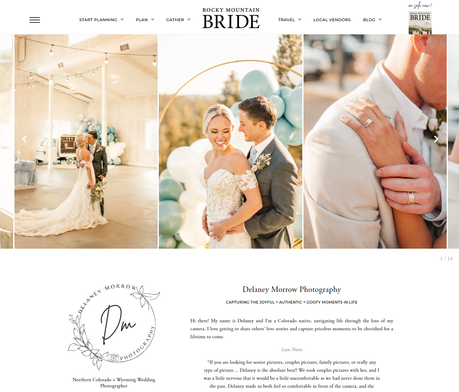 Rocky Mountain Bride Vendor, Delaney Morrow Photography, Colorado Wedding Photographer, Denver Wedding Photographer, colorado portrait photographer, wedding photography